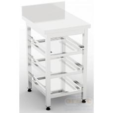 Рабочее место бармена (станция бармена)  Стол для корзин посудомоечных машин BM-3