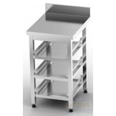 Робоче місце бармена (станція бармена)  Стіл для кошиків посудомийних машин BM-3