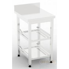 Рабочее место бармена (станция бармена)  Стол для корзин посудомоечных машин BM-2