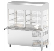 7.Refrigerated display cases