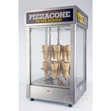 Hot display case for pizza  HDCP (m) cono pizza