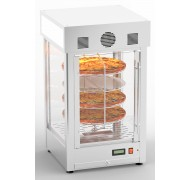 Hot display cases for pizza