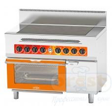 Плита електрична промислова Orest CES-6-OG(HD)