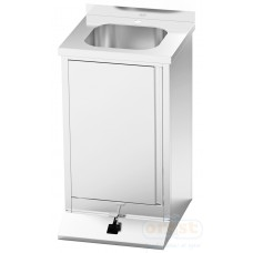 Stainless steel furniture  Hand washing sink (foot operated)