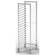 Sheet pan racks & Gastronorm trolley  PRMI-1x18 600x400
