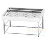 Refrigerated display case for fish on ice  SDI-1.5/1.0