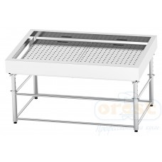 Refrigerated display case for fish on ice  SDI-1.7/1.0